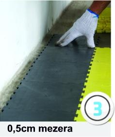 technické specifikace plastových podlah instalace 3. krok